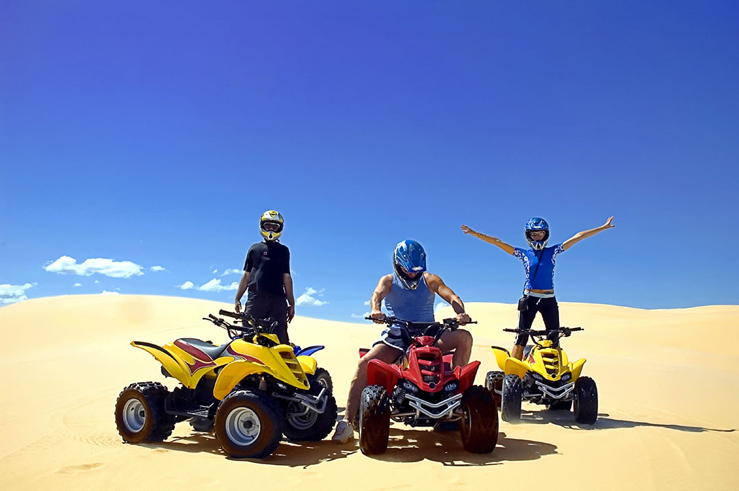 Having a Sand Blast at Pismo ATV Rentals in the Five Cities Area