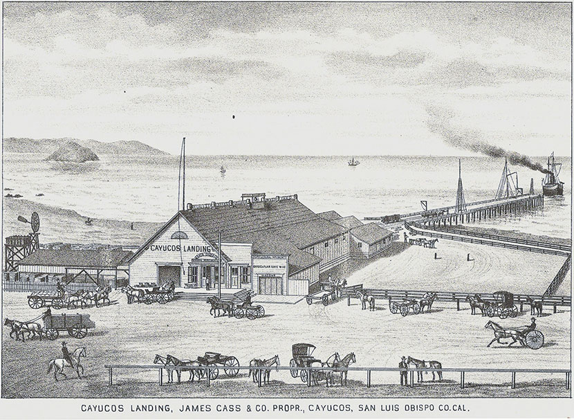 Cayucos Landing by docentjoyce from Los Osos