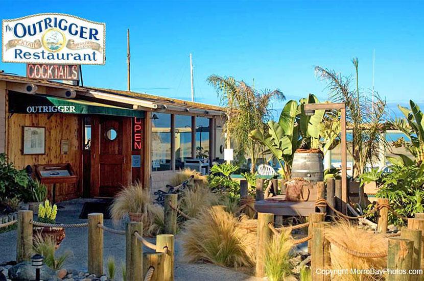 Outrigger Restaurant - Morro Bay CA