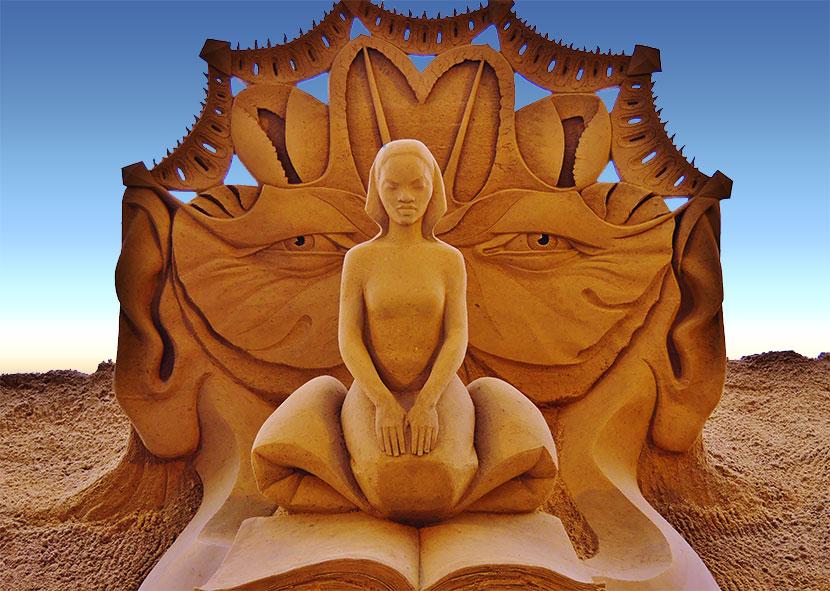 Sand Sculpture Contest - Cayucos CA