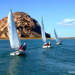 Under Sail in Morro Bay California