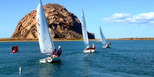 Under Sail in Morro Bay California